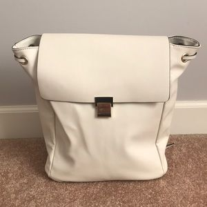 Zara faux leather backpack